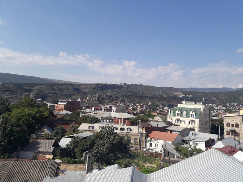 Старый город Тбилиси Вид сверху