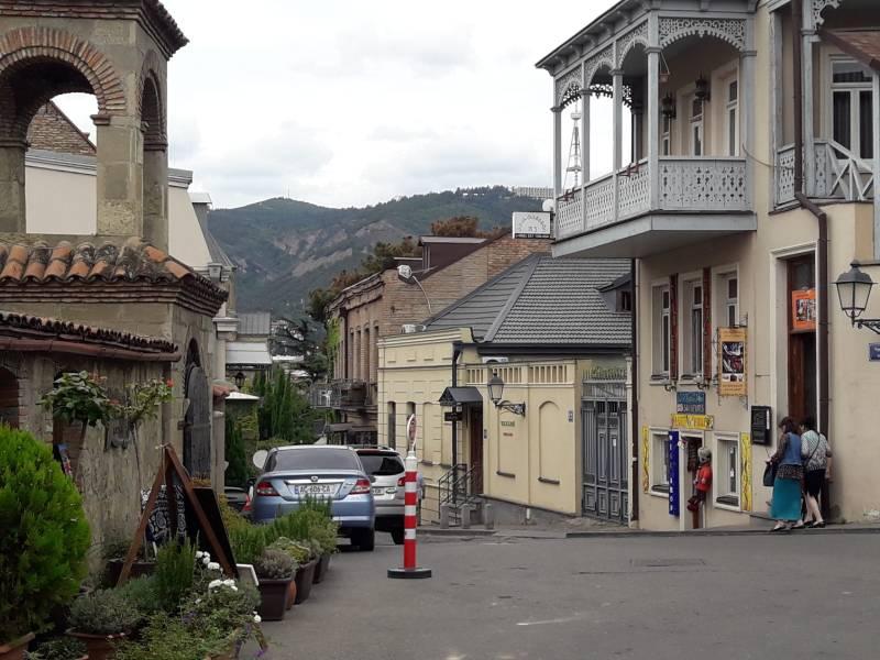 Старый город Тбилиси Живописный улочки