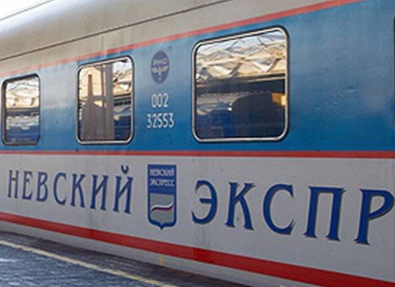 Фирменный поезд Невский экспресс Россия
