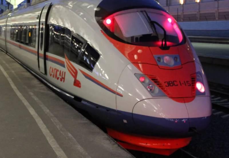 Фирменный поезд Сапсан Россия