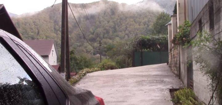 Кавказские горы краснодарского края