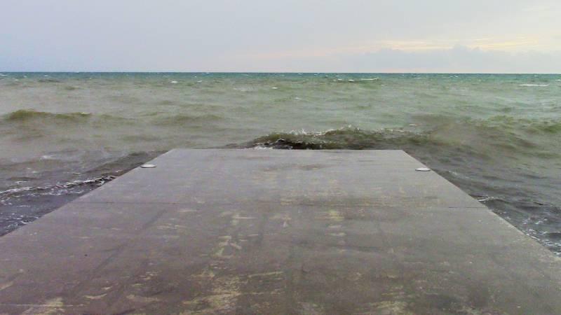 Черное море в начале октября