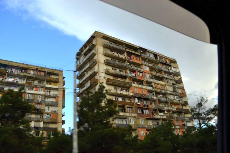 Дома в новом Тбилиси