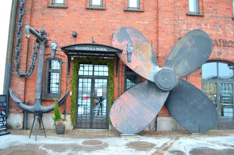 Итальянский Ресторан Ravintola Nokka Хельсинки