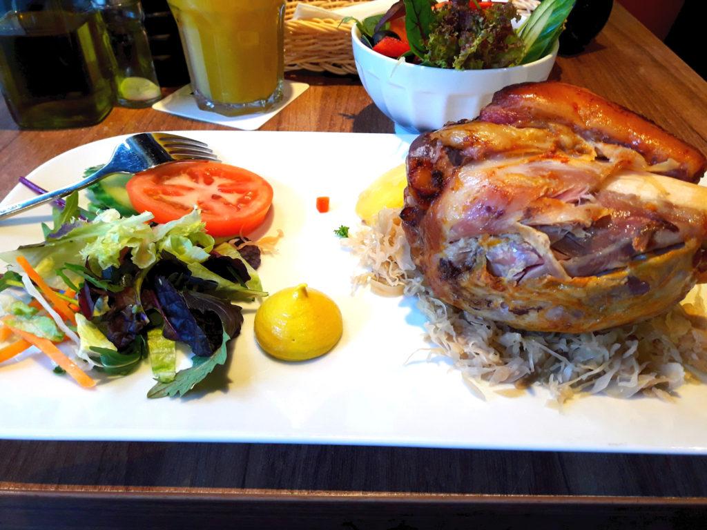 Ужин в ресторане Берлин