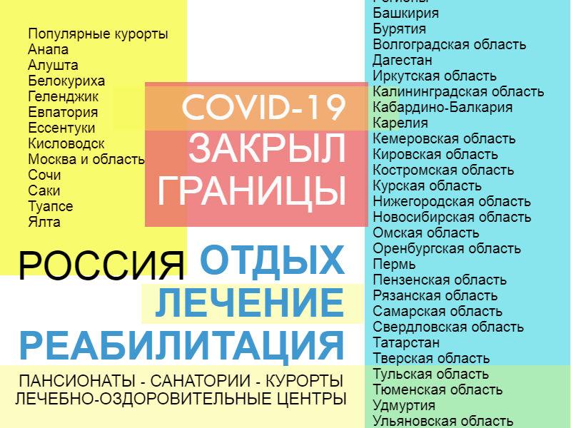 Отдых, лечение и реабилитация в России