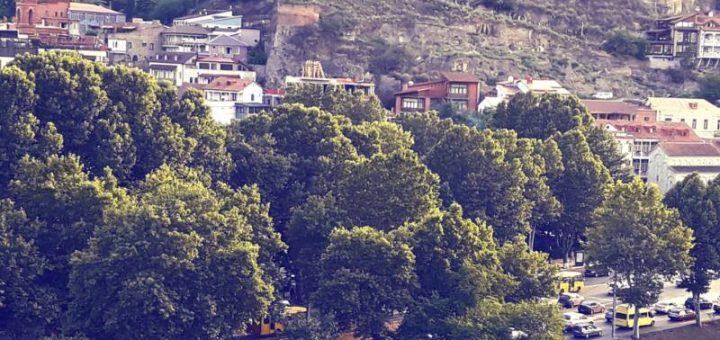 Старый город. Тбилиси Летом