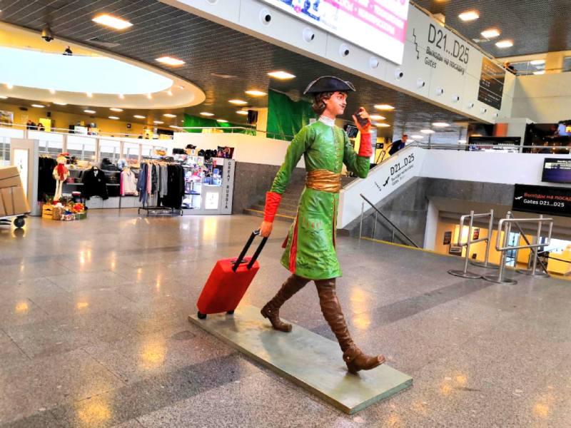 В аэропорту Санкт-Петербурга