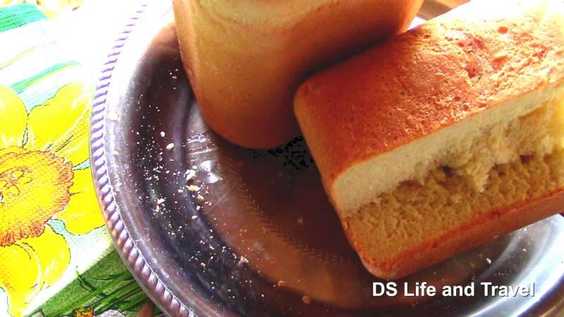 Испёк Яичный хлеб в хлебопечке LG