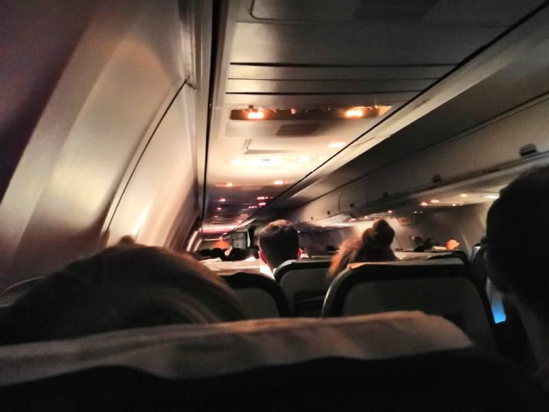 На борту самолёт компании Нордавиа